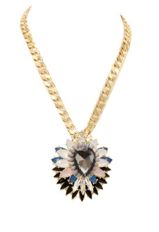 Niobe Flower Pendant Necklace