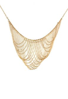 Louisa Delicate Draped Necklace